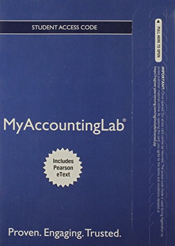 9780133049220: NEW MyAccountingLab with Pearson eText -- Access Card -- for Prentice Hall's Federal Taxation 2013 Corporations, Partnerships, Estates & Trusts (MyAccountingLab (Access Codes))