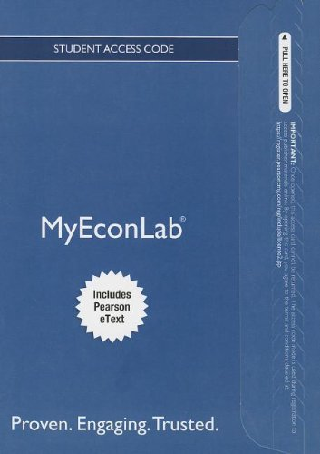 9780133049831: NEW MyEconLab with Pearson eText -- Stanalone Access Card -- for Principles of Macroeconomics