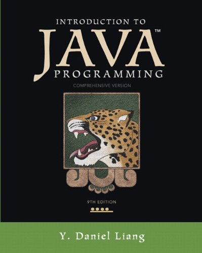 9780133050578: Introduction to Java Programming