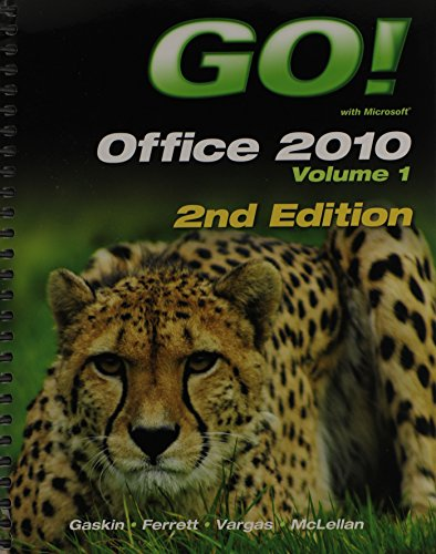 9780133050660: GO! with Office 2010 Volume 1 Plus myitlab (2nd Edition) (Go! with Microsoft)