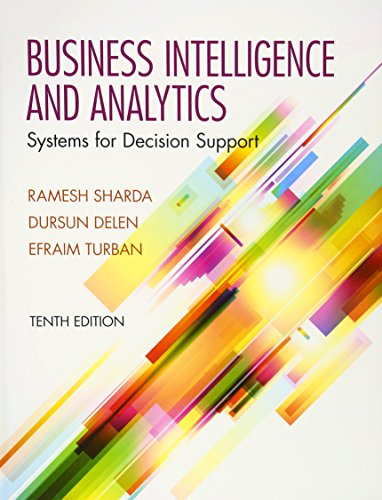 9780133050905: Business Intelligence and Analytics: Systems for Decision Support