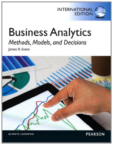 9780133051711: Business Analytics: Methods, Models and Decisions