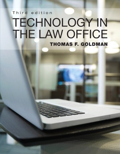 9780133053456: Technology in the Law Office with NEW MyLegalStudiesLab and Virtual Law Office Experience