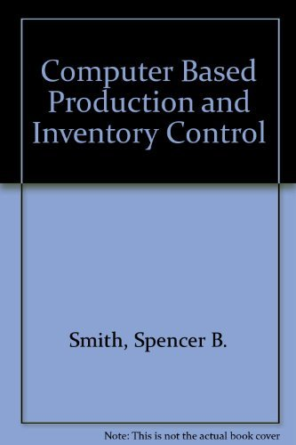 9780133053500: Computer Based Production and Inventory Control