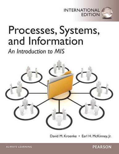 9780133055443: Processes, Systems, and Information: An Introduction to MIS