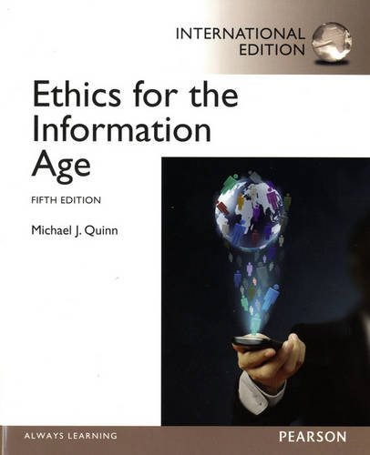 9780133056693: Ethics for the Information Age