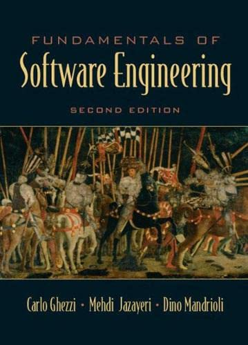 9780133056990: Fundamentals of Software Engineering (2nd Edition)