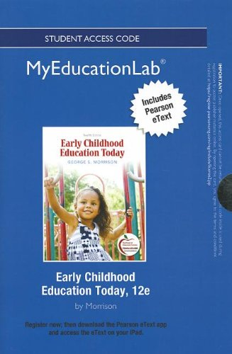 9780133057836: NEW MyEducationLab with Pearson eText -- Standalone Access Card -- for Early Childhood Education Today (myeducationlab (Access Codes))