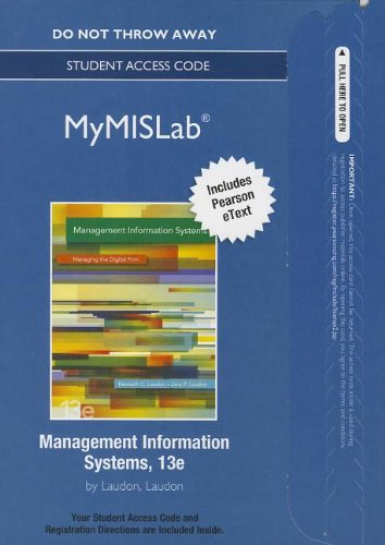 9780133058321: NEW MyMISLab with Pearson eText -- Access Card -- for Management Information Systems