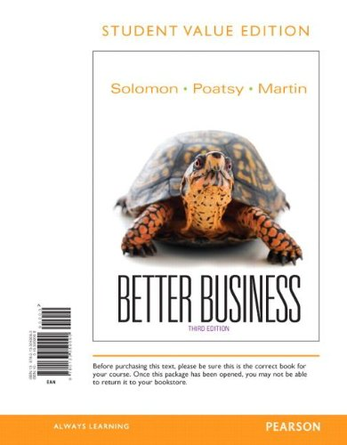 9780133059090: Better Business, Student Value Edition (3rd Edition)