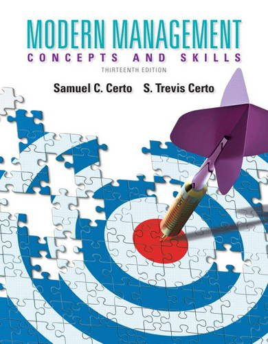 9780133059922: Modern Management: Concepts and Skills