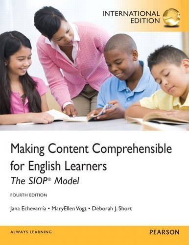 9780133060768: Making Content Comprehensible for English Learners: The Siop Model