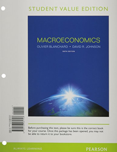 9780133061703: Macroeconomics, Student Value Edition (6th Edition)