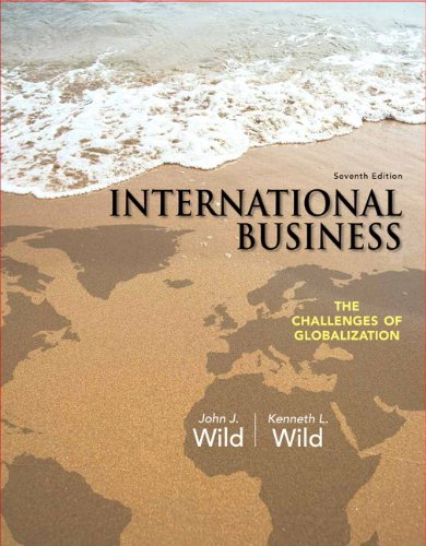 9780133063004: International Business: The Challenges of Globalization (7th Edition)