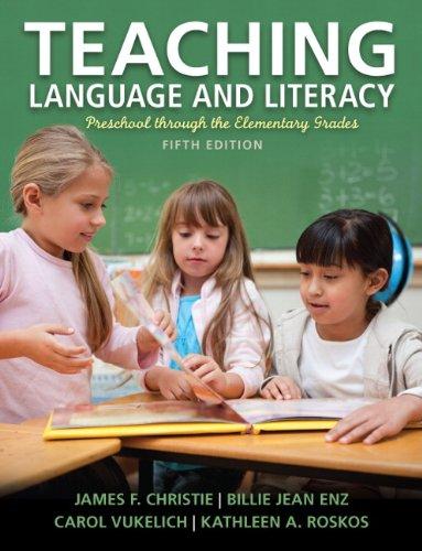 9780133066814: Teaching Language and Literacy: Preschool Through the Elementary Grades