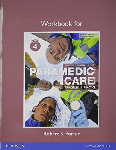 9780133070217: Paramedic Care Workbook Package: Volumes 4-7