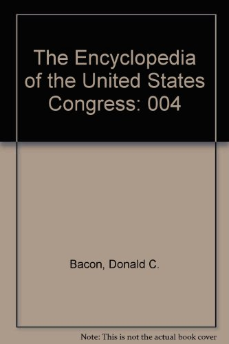 9780133071184: The Encyclopedia of the United States Congress