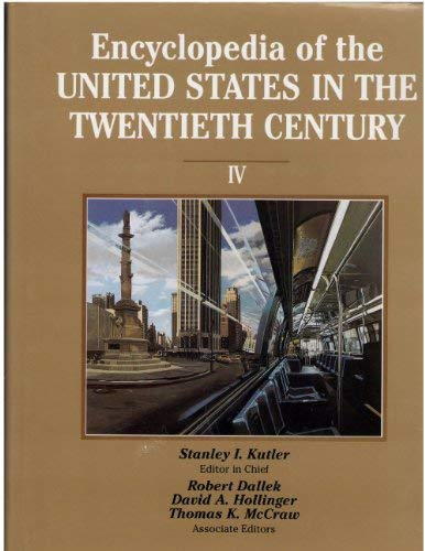 9780133072242: Encyclopedia of the U S In the Century Volume 4