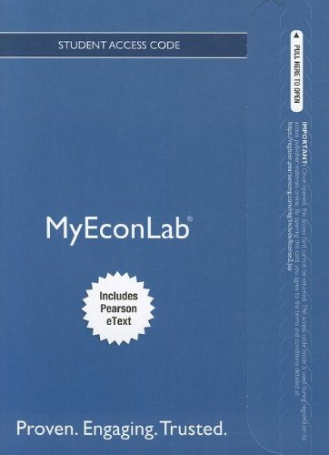 9780133074246: NEW MyEconLab with Pearson eText -- Access Card -- for Macroeconomics