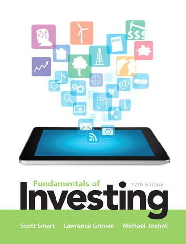 9780133075359: Fundamentals of Investing (Pearson Series in Finance)