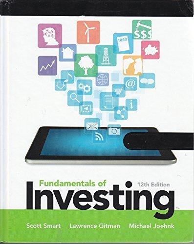 9780133075373: Fundamentals of Investing