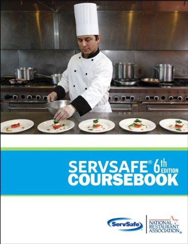 9780133075854: ServSafe CourseBook with Online Exam Voucher (6th Edition) (MyServSafeLab Series)