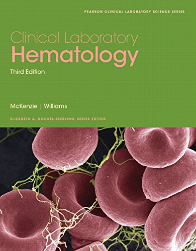 9780133076011: Clinical Laboratory Hematology (3rd Edition) (Pearson Clinical Laboratory Science Series)