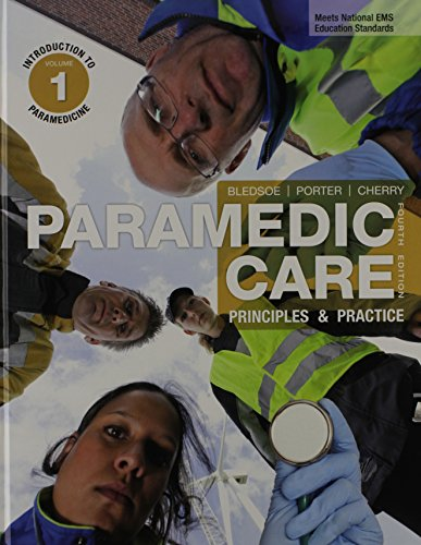 9780133076103: Paramedic Care: Principles & Practice, Volumes 1-7, with EMSTESTING.COM: Paramedic student -- Access Card