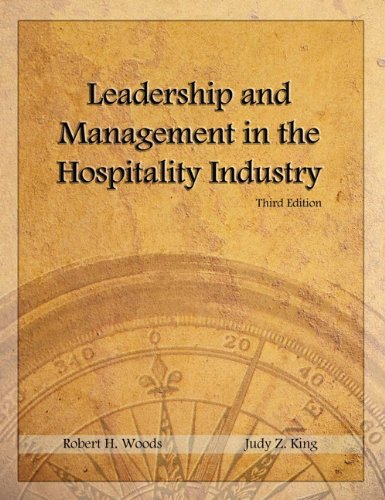 Leadership and Management in the Hospitality Industry with Answer Sheet (AHLEI) (3rd Edition) (...