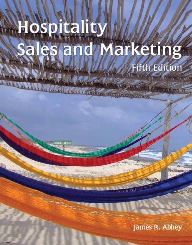9780133076936: Hospitality Sales and Marketing with Answer Sheet (AHLEI) (5th Edition) (AHLEI - Hospitality Sales and Marketing)
