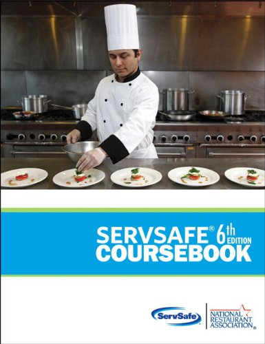ServSafe CourseBook with Online Exam Voucher Plus NEW MyServSafeLab with Pearson eText (6th Edition...
