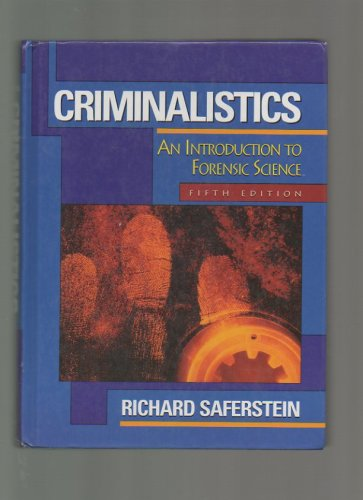 9780133078442: Criminalistics: An Introduction to Forensic Science