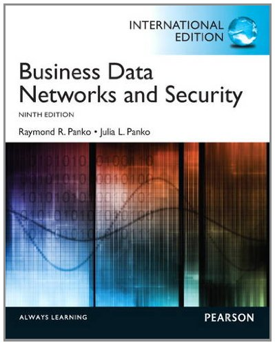 9780133080452: Business Data Networks and Security