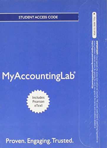 9780133080872: NEW MyAccountingLab with Pearson eText -- Standalone Access Card -- for Auditing and Assurance Services