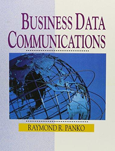 9780133081640: Business Data Communications