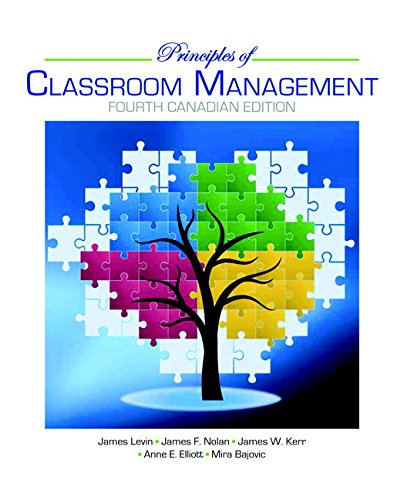 9780133081664: Principles of Classroom Management, Fourth Canadian Edition (4th Edition)