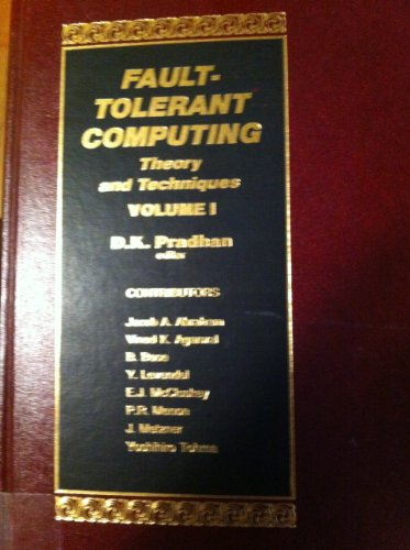 9780133082302: Fault-Tolerant Computing: Theory and Techniques (Volume I)