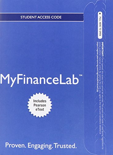 9780133082807: Myfinancelab with Pearson Etext -- Standalone Access Card -- For Corporate Finance: The Core