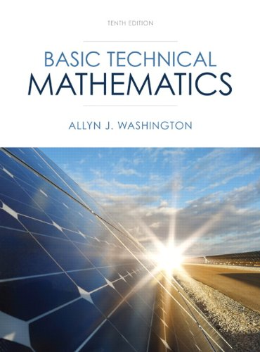 9780133083507: Basic Technical Mathematics (10th Edition)
