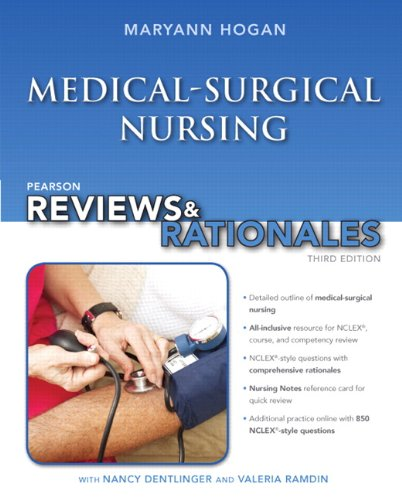 9780133083606: Pearson Reviews & Rationales: Medical-Surgical Nursing