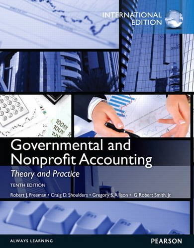 9780133083767: Governmental and Nonprofit Accounting: International Edition