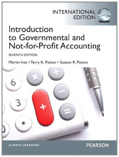 9780133084108: Introduction to Governmental and Not-For-Profit Accounting