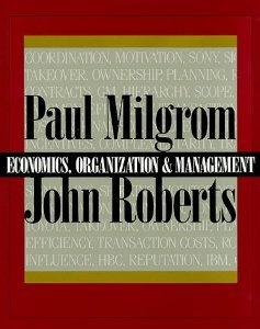 9780133084870: Economics, Organization and Management