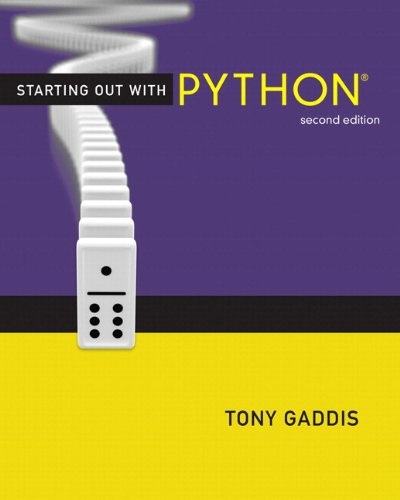 9780133086058: Starting Out with Python plus MyProgrammingLab with Pearson eText -- Access Card Package (2nd Edition) (Gaddis Series)