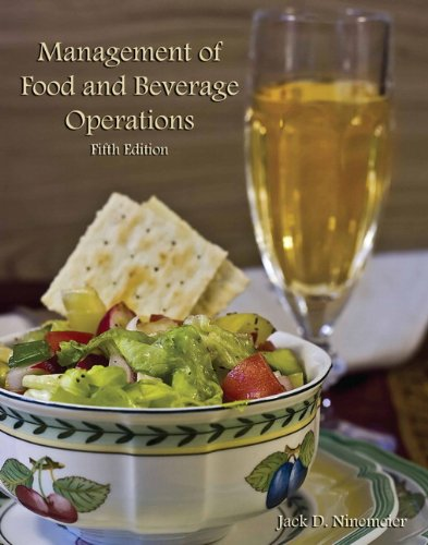 9780133086157: Management of Food and Beverage Operations with Answer Sheet (AHLEI) (5th Edition) (AHLEI - Food and Beverage)