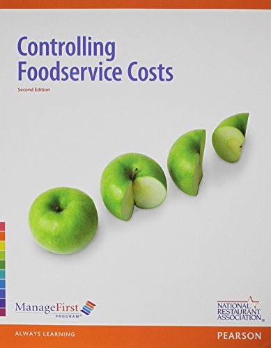 9780133086553: Controlling Food Service Costs with Answer Sheet and Exam Prep -- Access Card Package (2nd Edition)