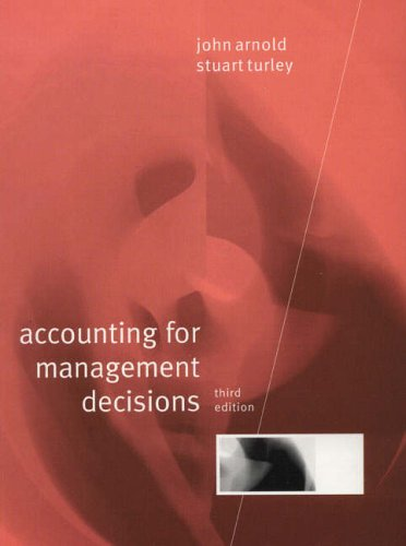 9780133088182: Accounting for Management Decisions