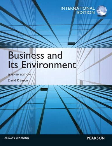 9780133088991: Business and Its Environment