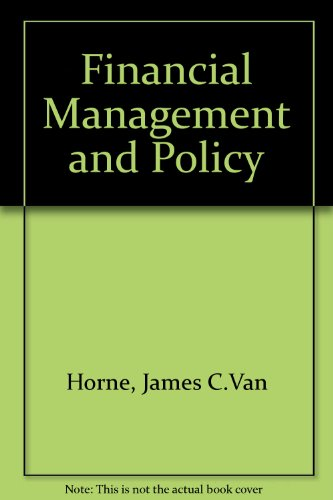 9780133093780: Financial Management and Policy
