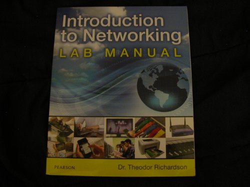 9780133096385: Introduction to Networking Lab Manual PEARSON